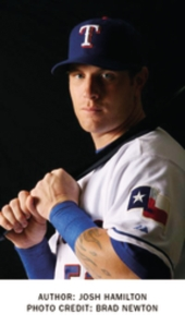 Texas Rangers' Josh Hamilton