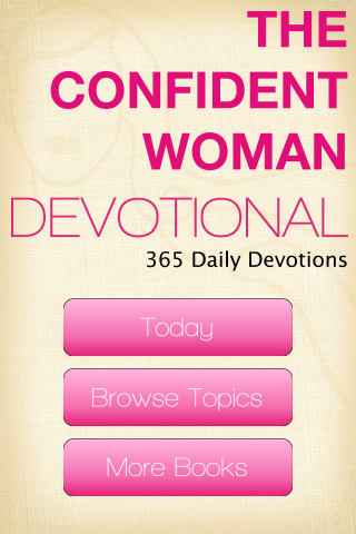 About For Books The Confident Woman Devotional: 365 Daily Inspirations For Free