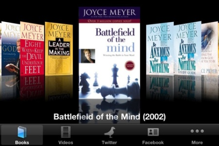 Joyce Meyer Author App Screencap